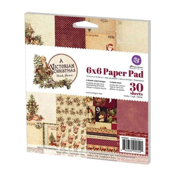 6x6 Paper Pad - A Victorian Christmas -