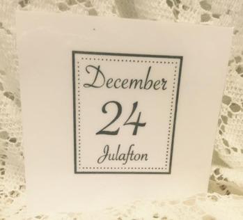 Omonterad stämpel, December -