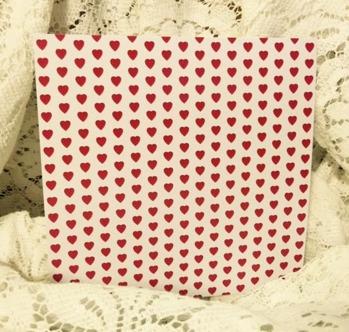 Röda Hjärtan 6x6 -