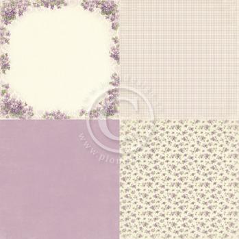Violet - Easter Greetings - 6x6 -
