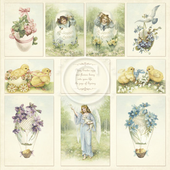 Easter Greetings - Images from the Past -