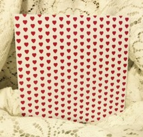 Röda Hjärtan 12x12