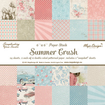 Summer Crush Paper stack 6x6