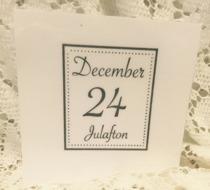 Omonterad stämpel, December