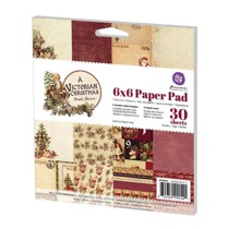 6x6 Paper Pad - A Victorian Christmas