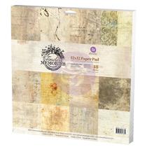 Prima 12x12 Paper Pad - Timeless Memories 847364