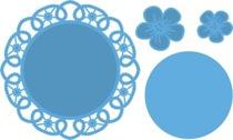 MARIANNE DESIGN FLOWER DOILY ARTIKELNUMMER: LR0388