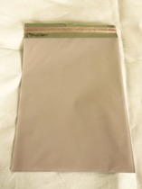 Cellofankuvert, 1 st, rosa metallic med klisterremsa