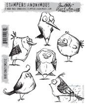 Tim Holtz Stampers Anonymous - Bird Crazy