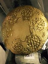 Tårtpapper guld