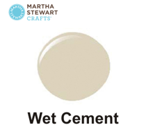 Hobbyfärg sidenmatt Wet cement
