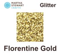 Hobbyfärg glitter Florentine gold