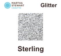Hobbyfärg glitter Sterling
