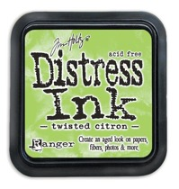 Distress Ink Pad Twisted Citron