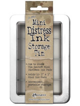 Storage Tin Mini Distress