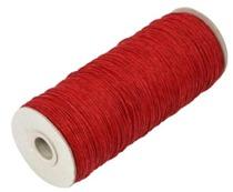 Papperssnöre 1,8 mm, röd 10 m
