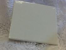 Målarduk 10x10 cm platt