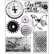 Prima Finnabair Cling Stamp - Rust & Dust 962050
