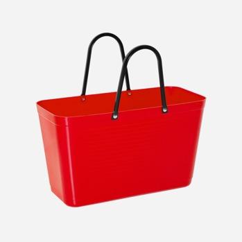 Väska röd liten -