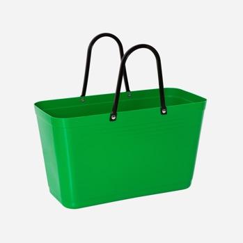 Väska stor Green plastic -