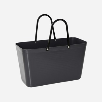 Väska mörkgrå liten -
