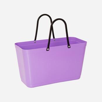 Väska liten Lila Green plastic -