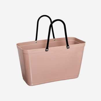 Väska liten beige Green plastic -