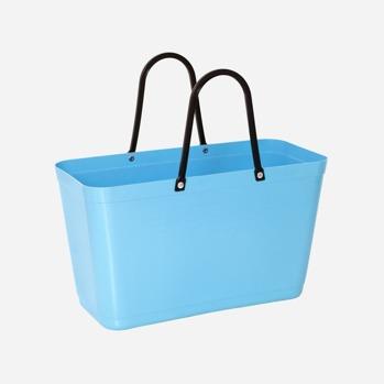 Väska liten ljusblå Green plastic -