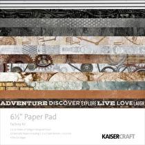 Kaisercraft Paper Pad 6.5X6.5 40/Pkg - Factory 42
