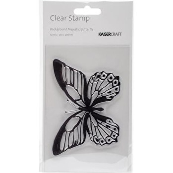 Kaisercraft Clear Stamp 6X4 - Majestic Butterfly -