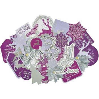 Kaisercraft Collectables Cardstock Die-Cuts - Christmas Jewel -