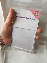 Fyrkantig Mixed Media platta från NellieSnellen
