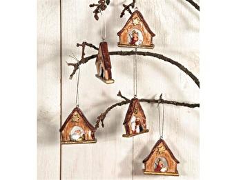 Julkrubba hängande -