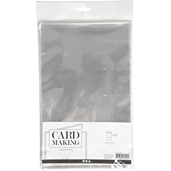 Cellofankuvert 50-pack 16,8x23 cm -