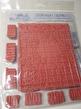 Tim Holtz Cling Stamps 7X8.5 inch ett ark med EZ-monterade stämplar