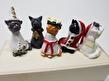 Sött luciatåg med katter