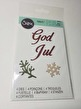 Sizzix 662158 God Jul