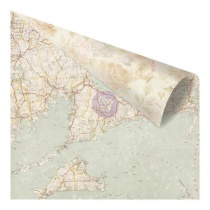 Prima St. Tropez Double-Sided Cardstock 12X12 - French Sands