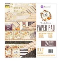 Prima Paper Pad 12X12 24/Pkg - Amber Moon
