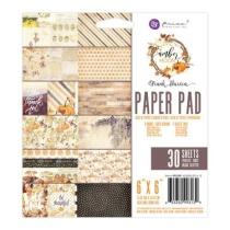 Prima Paper Pad 6X6 30/Pkg - Amber Moon