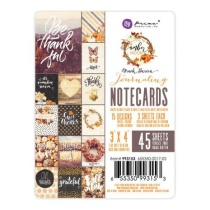 Prima Journaling Cards 3X4 45/Pkg - Amber Moon