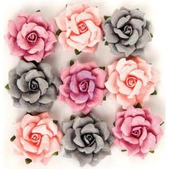 Prima Rose Quartz Flowers - Thassos -