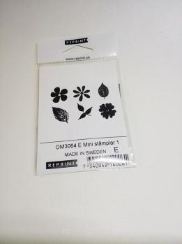 Omonterad gummistämpel OM3064 E -