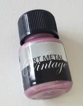 Art metal, metallicfärg rosa