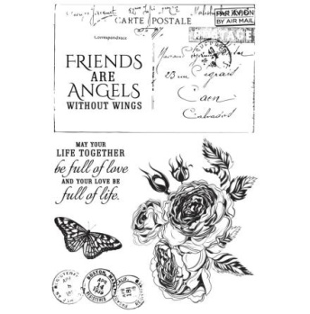 Rose Avenue - Clearstamps -