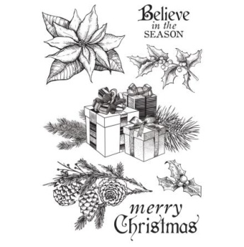 Kaisercraft Christmas Edition - clearstamps -
