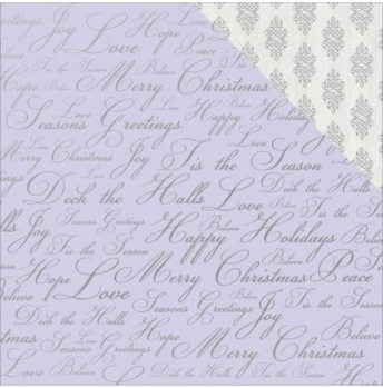 Kaisercraft Christmas Jewel Double-Sided Cardstock 12X12 -