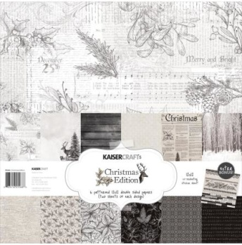 Kaisercraft Christmas Edition Double-Sided collection pack 12x12 -