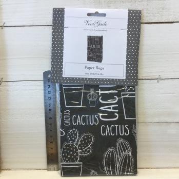 ViviGade - Paperbags Kaktus -