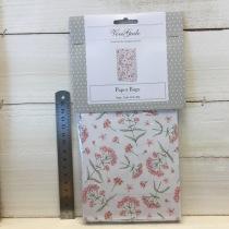 ViviGade - Paperbags Rosa blommor